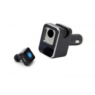 Автомобильное зарядное устройство с Bluetooth гарнитурой Eplutus CB103