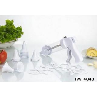 Шприц кондитерский с насадками, 19 предметов, FM - 4040