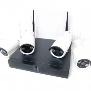 Беспроводной 8-х канальный  комплект видеонаблюдения WiFi XPX 3708 AHD 2 Mp