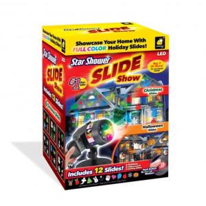 Проектор световой уличный 12 вариантов SLIDE