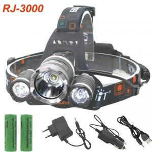 Налобный фонарь Boruit RJ3000