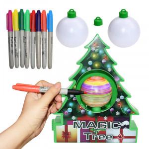 Набор для разукрашивания елочных украшений Magic Tree