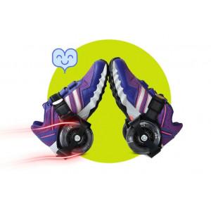 Ролики на обувь Wind Pulley светящиеся