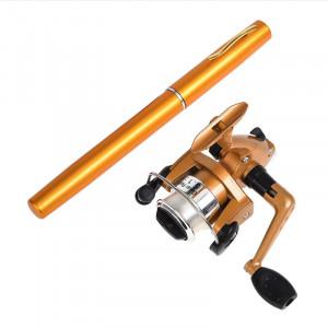 Удочка ручка с катушкой Pocket Pen Fishing Rod