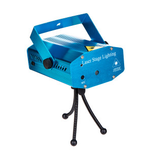 Лазерный проектор Mini Laser Stage Lightning