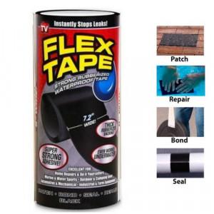Сверхсильная клейкая лента Flex Tape (18см)