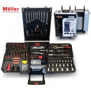 Набор инструментов Moller S189, 189 предметов
