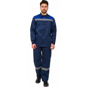 Костюм Труженик СОП брюки, темно-синий/васильковый 87468897