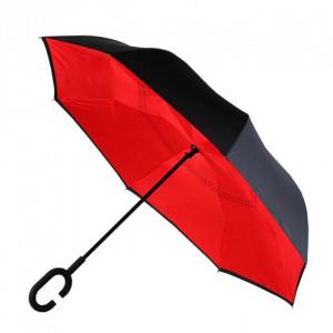 Зонт-наоборот (Красный) UPBRELLA