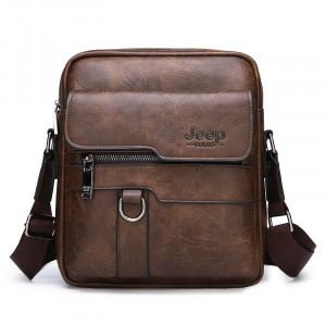 Мужская деловая сумка с плечевым ремнем