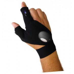 Перчатки со встроенным фонариком glove light