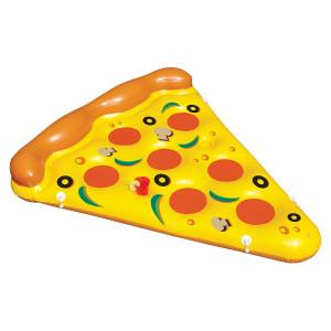 Надувной пляжный матрас пицца