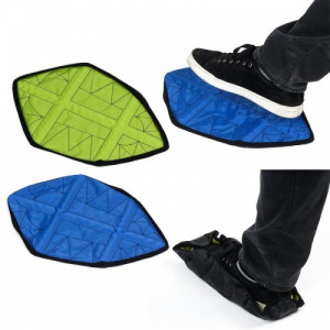 Автоматические многоразовые бахилы Automatic shoes covers for indoors
