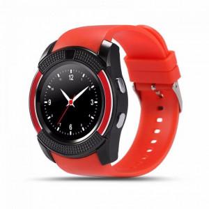 Умные часы Smart watch V8 цвет красные