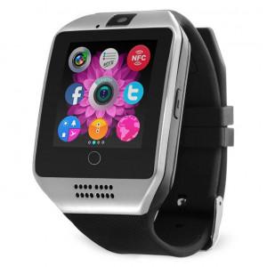 Умные часы Smart watch Q18 цвет серебро