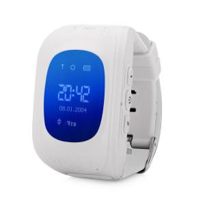 Детские часы GPS трекер Smart Baby Watch Q50 белые