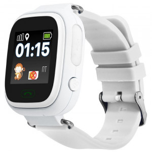 Smart baby watch G72 wi-fi и навигацией для ребёнка цвет Белые