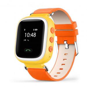 Детские часы с GPS маяком Smart Baby Watch Q60 S [Оранжевые]