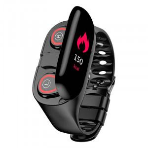Умные часы с Bluetooth наушниками TWS Earbuds BT 5.0