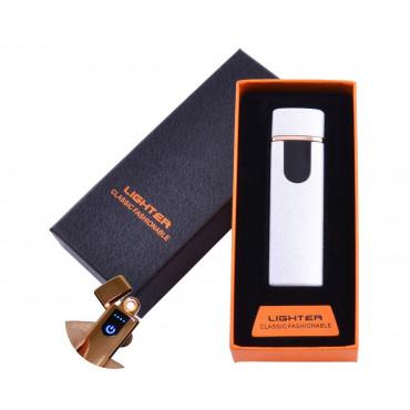 Электронная зажигалка с зарядкой от usb Lighter Classic Fashionable #0