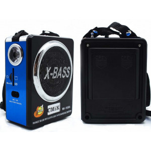 Радиоприемник FM/USB/SD CMiK MK-1656A Blue (Синий)