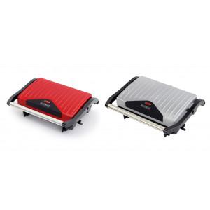 Электрический гриль Royalty Line RL-PM750.1 (красный/серый)