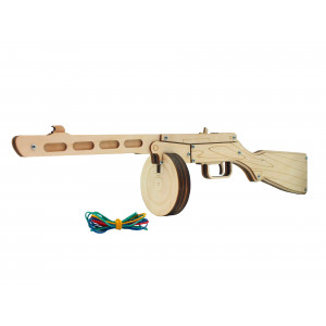 Автомат-резинкострел ППШ-41 (собранный)