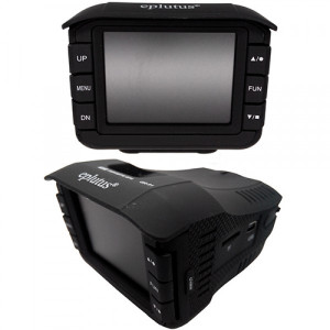 Видеорегистратор с радаром и GPS Eplutus GR-91