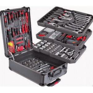 Набор инструментов в чемодане 189 пр Chempion Premium