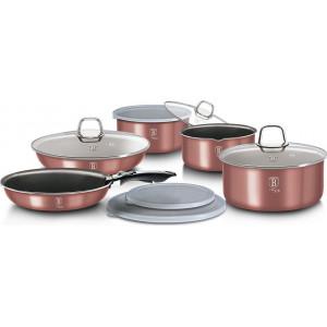 Набор посуды 12 предметов Berlinger Haus I-Rose Edition ВН-6104