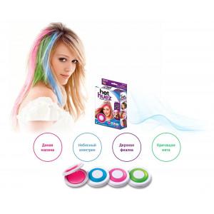 Мелки для макияжа волос Hair Chalk Hot Huez