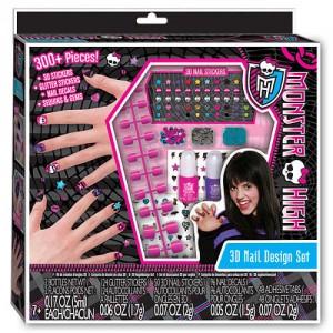 Набор для 3D дизайна ногтей Monster High