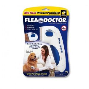 Щетка для вычесывания блох Flea Doctor Pet Hair Cleaner