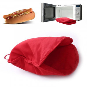 Мешочек для приготовления Хот-Дога за 1 мин  Microwave Hot-Dog cooker