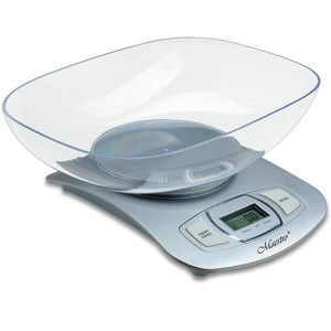 Электронные кухонные весы с чашей Maestro MR-1802