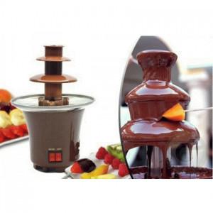 Шоколадный фонтан фондю мини Chocolate Fondue Fountain mini