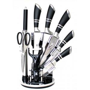 Набор кухонных ножей 9 пр. Hoffmann HM-6622