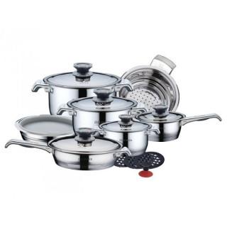 Набор посуды 17 пр. из нержавеющей стали ZILLINGER ZL-801