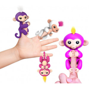 Интерактивная обезьянка на палец Fun Monkey
