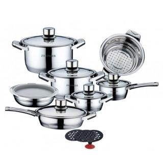 Набор посуды 17 пр. из нержавеющей стали ZILLINGER ZL-800