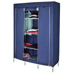 Складной каркасный тканевый шкаф Storage Wardrobe 130x45x175см