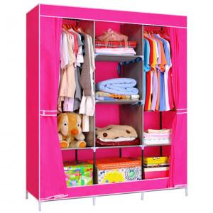 Складной шкаф Storage Wardrobe Pink (розовый)