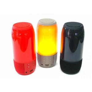 Беспроводная портативная Bluetooth колонка с цветомузыкой Pulse 3