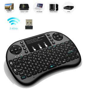 Беспроводная клавиатура c подсветкой Keyboard