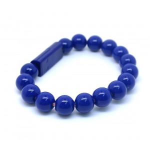 Браслет-зарядка Bracelet Charging Line (Синий) для Apple