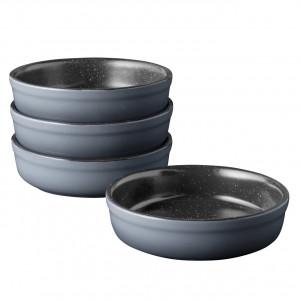 4пр набор форм порционных для крем брюле Gem 12,5x12,5x3,5см