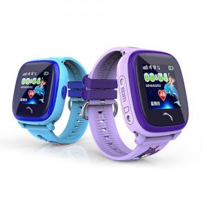 Детские часы Smart Baby Watch DF25G голубые IP67 водонепроницаемые с GPS трекером